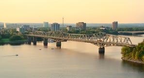 Alexandra Bridge Stock Photo
