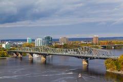 Alexandra Bridge Royalty Free Stock Photography