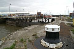 Alexandra Dock, old fish dock, kingston upon Hull, fishing trade Stock Images