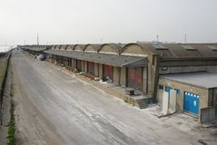 Alexandra Dock, old fish dock, kingston upon Hull, fishing trade Stock Photography