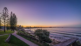 Alexandra Headland Sunshine Coast Australia imagem de stock royalty free