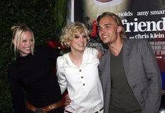 Alexandra Holden, Anna Faris et Joey Kern Photos libres de droits