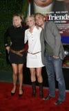 Alexandra Holden, Anna Faris i Joey Kern, obrazy royalty free