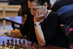 Alexandra Kosteniuk Lizenzfreie Stockbilder