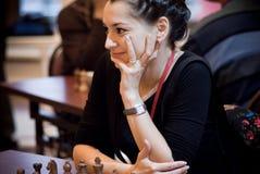 Alexandra Kosteniuk 3 Lizenzfreie Stockbilder