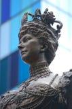 alexandra królowej statua obraz stock