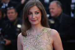 Alexandra Maria Lara. CANNES, FRANCE - MAY 21:  Alexandra Maria Lara attends the 'Elle' Premiere during the 69th annual Cannes Film Festival at the Palais des Stock Photography