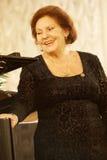Alexandra Milcheva - de operazanger van wereldfamouos, discant, Bulgari Royalty-vrije Stock Fotografie