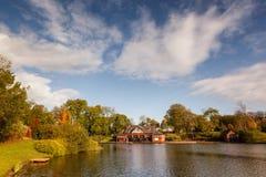 Alexandra-Park, Oldham Manchestr England lizenzfreie stockfotos