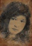 Alexandra-Plakat Lizenzfreie Stockbilder