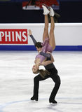 Alexandra STEPANOVA/Ivan BUKIN (RUS) Fotografie Stock