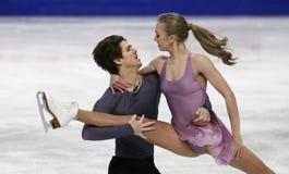 Alexandra STEPANOVA/Ivan BUKIN (RUS) Fotografia Stock