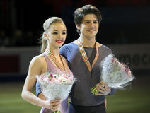 Alexandra STEPANOVA/Iwan BUKIN (RUS) Lizenzfreies Stockfoto