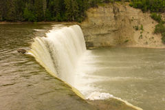 The alexandra waterfall in the northwest territories Royalty Free Stock Image
