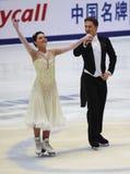 Alexandra Zaretski & Roman Zaretski (ISR) Royalty Free Stock Photo