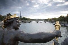 alexandre桥梁法国iii巴黎 免版税库存图片