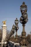 alexandre桥梁iii巴黎pont 图库摄影