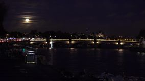Alexandre桥梁III,巴黎,法国 影视素材