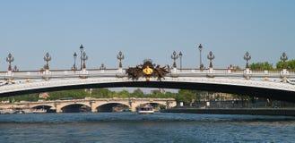 Alexandre ΙΙΙ pont Στοκ Εικόνες