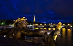 Alexandre ΙΙΙ pont Στοκ Φωτογραφίες