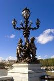 alexandre ・法国iii巴黎pont 免版税库存照片