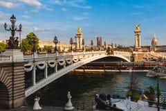 Free Alexandre 3 Bridge, Pont Alexandre III Stock Photography - 217263062