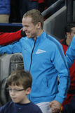 Alexandre Anioukov Bayer 04 Leverkusen v Zénith Saint-Pétersbourg Champion League Royalty Free Stock Photos