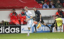 Alexandre Anioukov Bayer 04 Leverkusen v Zénith Saint-Pétersbourg Champion League Royalty Free Stock Images
