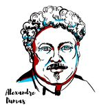 Alexandre Dumas libre illustration