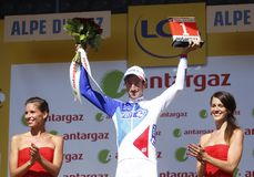 Alexandre Geniez 2015 Tour de France Stock Photos