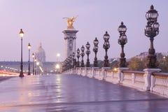 Alexandre III bridge Stock Photo