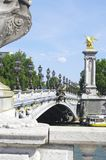 Alexandre III bridge Royalty Free Stock Photos