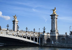 Alexandre III Bridge - Paris Royalty Free Stock Photography