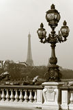 The Alexandre III Bridge in Paris, France. Stock Images