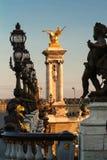 Alexandre III bridge in Paris, France Royalty Free Stock Photos