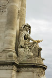 Alexandre III bridge. Stock Photo