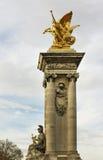 Alexandre III bridge. Royalty Free Stock Image