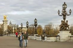 Alexandre III brug Stock Afbeeldingen