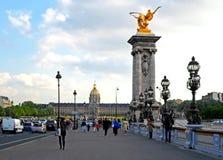 Alexandre III brug royalty-vrije stock fotografie