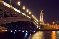 alexandre iii pont Obraz Stock