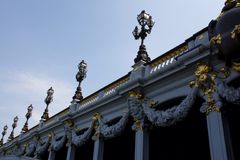 alexandre iii pont Obrazy Royalty Free