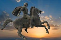 Alexandre le grand Photo libre de droits