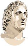 Alexandre le grand Photos libres de droits