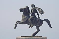 Alexandre le grand, roi célèbre de Macedon Photos libres de droits