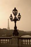 alexandre mosta iii lamppost rocznik Fotografia Stock