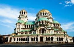 Alexandre Nevski Cathedral Royalty Free Stock Photography