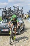 Alexandre Pichot- Paris Roubaix 2014 Lizenzfreies Stockfoto