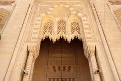 alexandria łuku wejścia przodu meczet stary Zdjęcie Stock