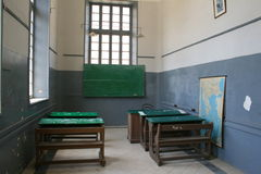 школа alexandria старая Стоковая Фотография RF