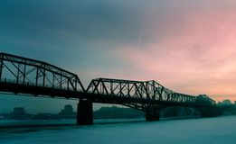 Alexandria Bridge 2 royalty free stock photography